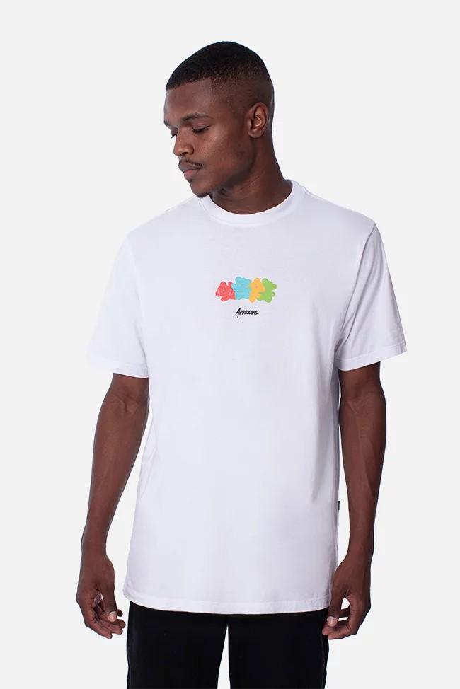 アプルーヴ ベアーグミTシャツ ホワイト