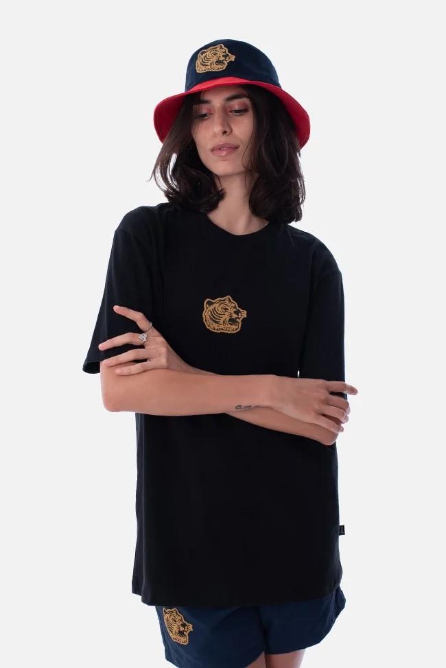 アプルーヴ Tシャツ タイガー ブラック